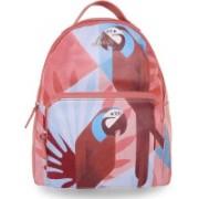 Lavie Pink Medium Backpacks 2.5 L Backpack(Pink)