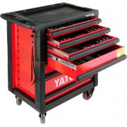 Yato Bővíthető szerszámkocsi szerszámokkal 177 részes (YT-5530)