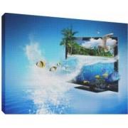3D TV 2 - Tablou canvas - 70x100 cm
