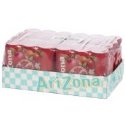 ARIZONA Pomegranate Tea Bevanda Al Te' Verde E Succo Di Melograno 24X330Ml