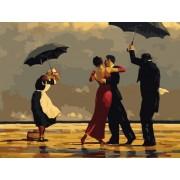 Gaira Malování podle čísel Tanec pod deštníky M222