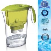 LAICA Clear Line vízszűrő kancsó (zöld) 1 db univerzális szűrővel