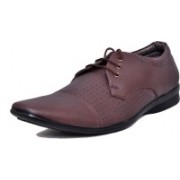 West Code Men's Synthetic Leather Casual Shoes D-71-Brown-9 Casuals For Men(Brown)