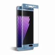 Folie protectie sticla securizata curbata Samsung Galaxy Note 7 ,blue coral