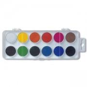 Комплект водни бои Koh-i-Noor, 30мм., 12 цвята, 2200070