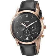 Fossil Analog Black Dial Mens Watch-FS5381