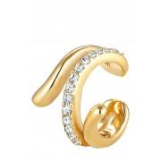 Elli Earcuff, 925 Sterling Silber gold
