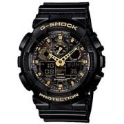 G-Shock World time Analog-Digital Multi-Colour Dial Mens Watch - GA-100CF-1A9DR (G519)