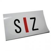 Sticker slechtziend S|Z