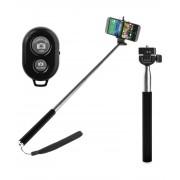 Selfie stick telefon Z07-1 cu Telecomanda Bluetooth Extensibil