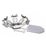 Impressora rotativa com um berço e seis garras sem gabinete Metal Printer