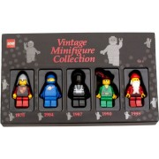 Set 852753 - Minifigs: 2009 Vintage Minifigure Collection Vol.4- Nieuw