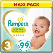 Pampers Premium Protection - Maat 3 - 99 Luiers - 6kg-10kg