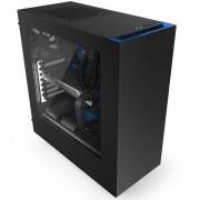 Carcasa S340, MiddleTower, Fara sursa, Negru/Albastru