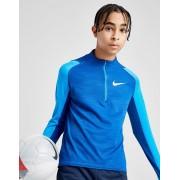 Nike Swoosh 1/2 Zip Top Junior - Blauw - Kind