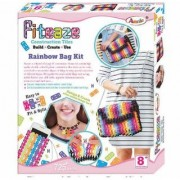 JGG Jain Gift GalleryFiteaze (Rainbow Bag Kit )Design and Create Own Bag for College/Travelling