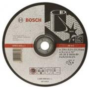 Disc de degrosare INOX, executie cu degajare,D=180mm G=6mm