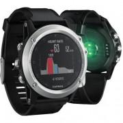 Garmin fenix 3 HR Bluetooth Nero, Argento orologio sportivo