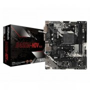 Asrock AMD AM4 B450M-HDV R4.0 ASR-B450M-HDV R4.0-RMA