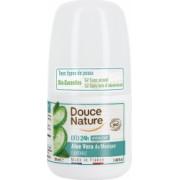 Deo Roll On Hidratant cu Aloe Vera Bio 50ml Douce Nature