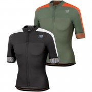 Sportful BodyFit Pro 2.0 Classics Jersey - M - Dry Green/Orange SDR