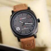 Stylish Curren Mens Wrist Watches By sports