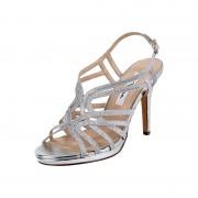 NINA SHOES Sandalette mit Glitter-Effekt
