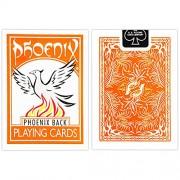 1 Deck of Phoenix Playing Cards ORANGE Phoenix Back Standard Deck by Card Shark