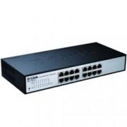 Суич D-Link DES-1100-16, 16Port 10/100Mbps