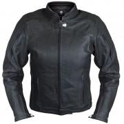 Bores Caroline Ladies Leather Jacket Waterproof Dámská kožená bunda 38 Černá