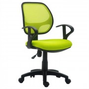 IDIMEX Chaise de bureau pour enfant COOL, vert