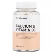 Myvitamins Calcium & Vitamin D3 - 1 Month (60 Tablets)
