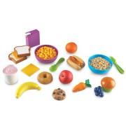 Joc de rol Mancarea preferata - set educativ montessori- micul dejun Learning Resources