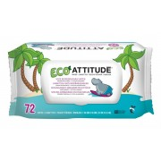 Servetele bio umede pentru bebelusi 100 % biodegradabile Attitude 72 buc