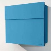 Radius Design Letterman 4 Briefkasten orange (RAL 2009) ohne Klingel ohne Pfosten
