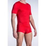 Olaf Benz RED 1201 Sheer Short Sleeved T Shirt Black 1-05835/3000 NOS