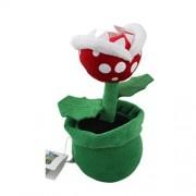 "Super Mario Bros Plush 7.8"" / 20cm Piranha Plant Character Doll Stuffed Animals Figure Soft Anime Collection Toy"