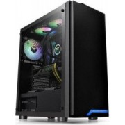Carcasa Thermaltake H100 Tempered Glass SPCC Steel ATX Mid Tower Neagra