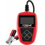 Tester pentru Baterie si a Sistemului de Incarcare si Pornire Auto 12V 2-30Ah cu Afisaj LCD