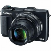 Canon PowerShot G1X Mark II Camera Black (12.8 MP 5x Optical Zoom) 3 inch Touch Screen