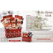 Cos de Craciun Stella Alpina 14 piese made in Italy