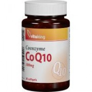 Coenzima q10 naturala 100mg 30cps VITAKING