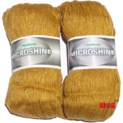 Vardhman Microshine Mustard 400 gm hand knitting Soft Acrylic yarn wool thread for Art & craft Crochet and needle