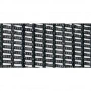 Bodenmatte mit Rechteck-Hohlprofilen Breite 800 mm, schwarz, Preis pro lfd. m