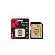 Cartao De Memoria Classe 10 Kingston Sda10/128gb Sdxc 128gb Uhs-I