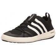 adidas Outdoor Men's Terrex Climacool Boat Water Shoe, Black/Chalk White/Black, 8. 5 M US
