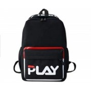 """Multi-Zone Casual """"Play"""" Backpack 15 Ltrs School College Office Travel Laptop Daypack Fashion Backpacks Unisex Bag 14 L Backpack(Black)"""