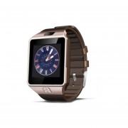 Reloj Smartwatch, DZ09 De La Tarjeta SIM De La Ayuda Electrónica Elegante Wearable Para El Androide De Apple (anaranjado)