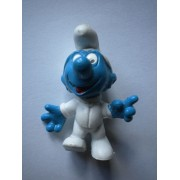 Schtroumpf Cosmonaute Made In Portugal Smurf Figurine Jouet