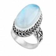 Inel din argint Everly - Piatra Lunii 10